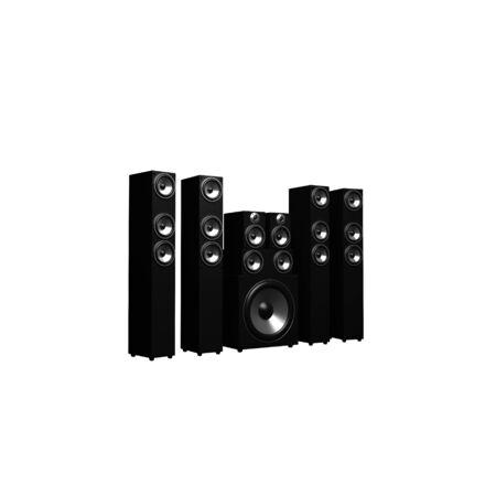 3d illustration of audio system over white background Stock Illustration - 11948871