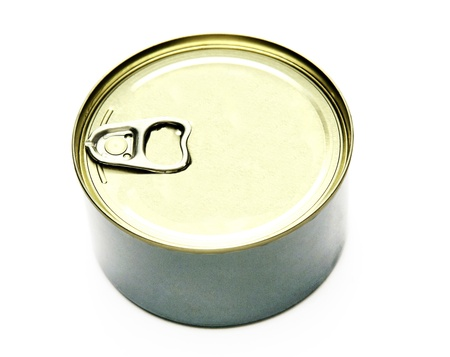 chrome base: Lid or Base of Food Tin Can