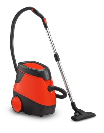 Vacuum cleaner isolated Stock Photo - 11948643