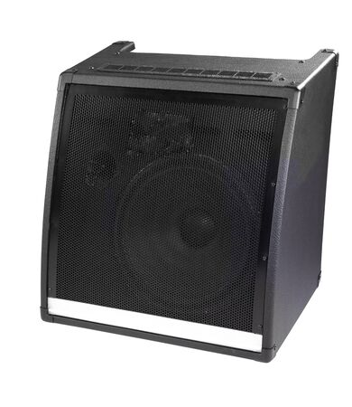 old powerful stage concerto audio speaker photo