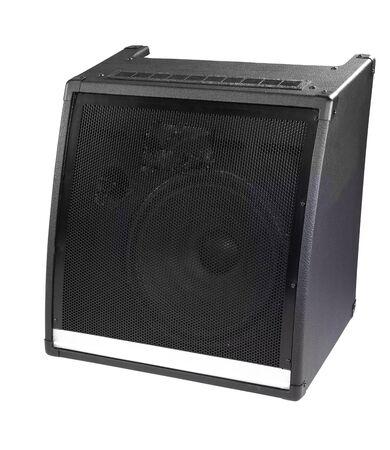 old powerful stage concerto audio speaker Stock Photo - 11948281