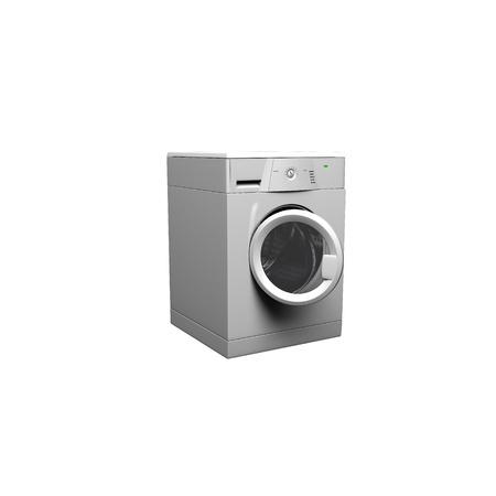 Washing machine on a white background. 3d illustration Stock Illustration - 11948873