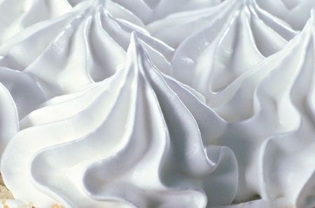 Vanilla soft ice cream photo