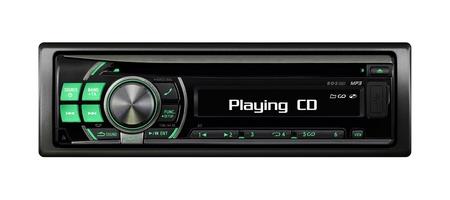 est�reo: Car Audio Moderno Foto de archivo