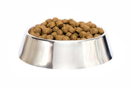 dog food isolated Stock Photo - 12019923