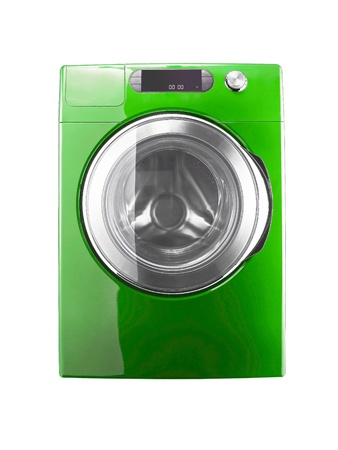 Washing machine isolated Stock Photo - 12020345