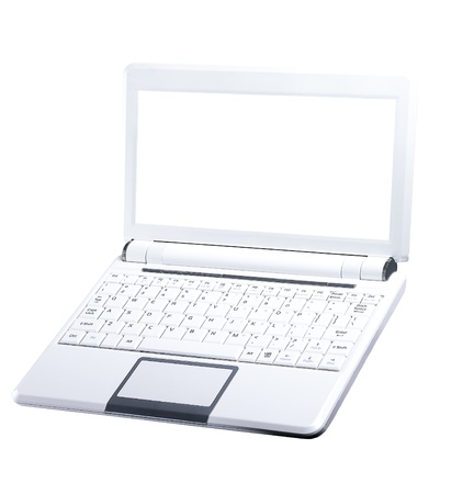 microcomputer: Lap-top computer Stock Photo