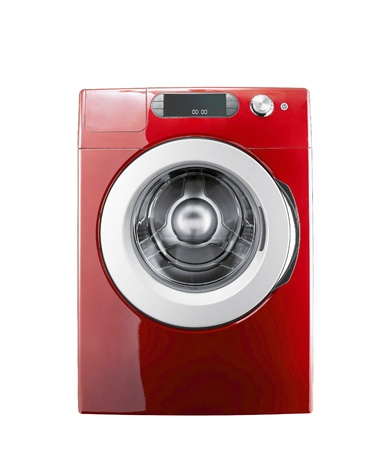 Washing machine isolated Stock Photo - 12084947