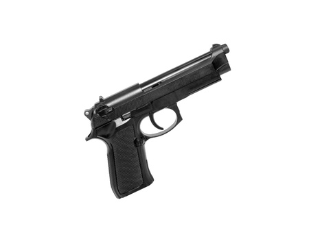 Gun isolated on white background photo