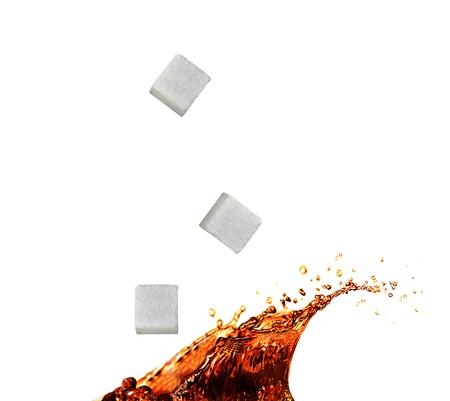 incident: Tea splash with sugar cube
