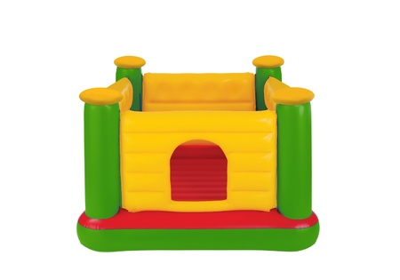 Childrens Inflatable Castle Jumping Playground photo