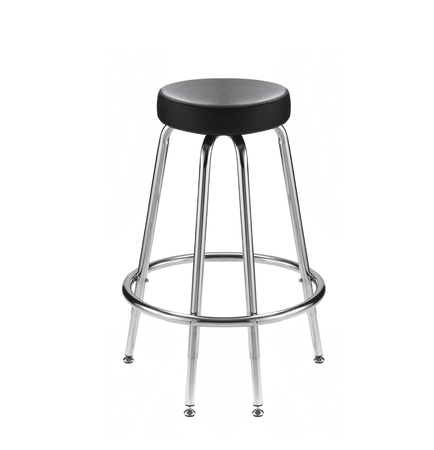 chair for a bar on a white background photo