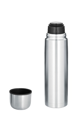 Thermo flask isolated photo