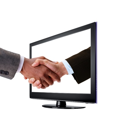 handshake - concept of a successful business photo
