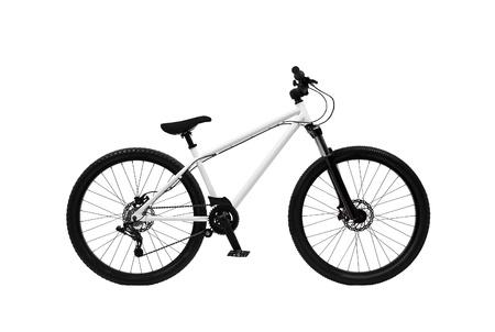 mountain bike isolated on white background Stock Photo - 13657410
