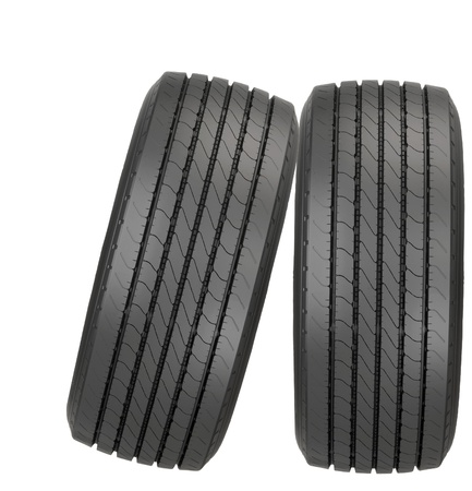 new car tyres Stock Photo - 13657328