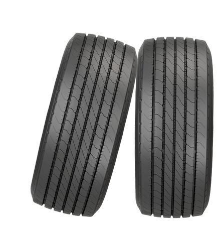new car tyres Stock Photo - 13657328