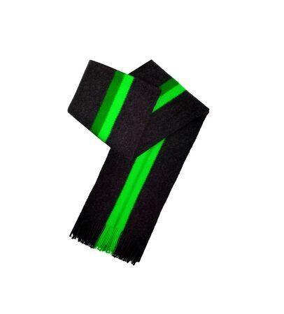 scarf isolated on white photo