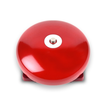 alarm on a white background photo