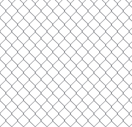 fence panel: iron wire fence