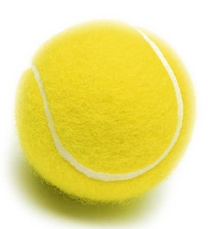 Tennis ball isolated Stock Photo - 14062276
