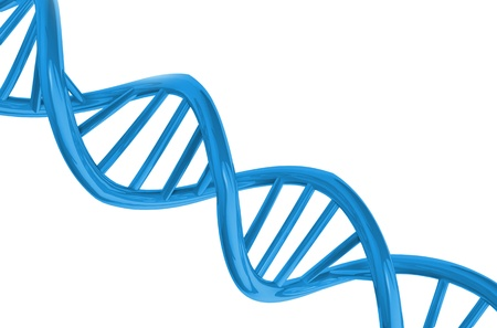 researchs: DNA background Stock Photo