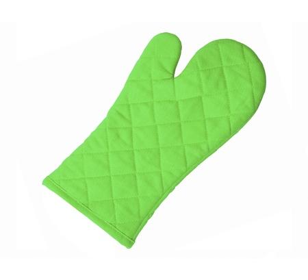 Green kitchen glove photo