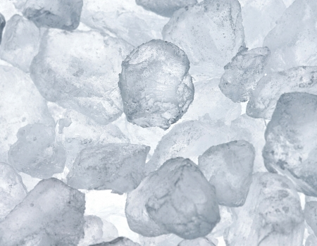 Background of blue ice cubes close up Stock Photo - 14061230