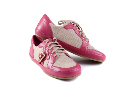 pink shoes photo