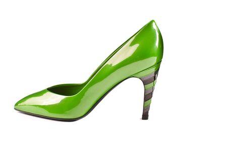 green shoe photo