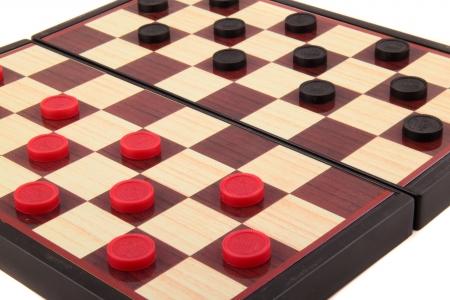 boardgames: Checkers Board Game background