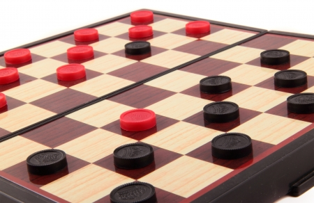 Checkers Board Game Stock Photo - 14062726
