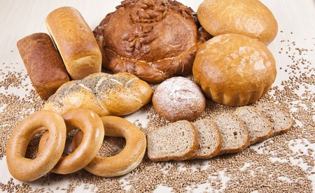 bakery products: Bakery products Stock Photo