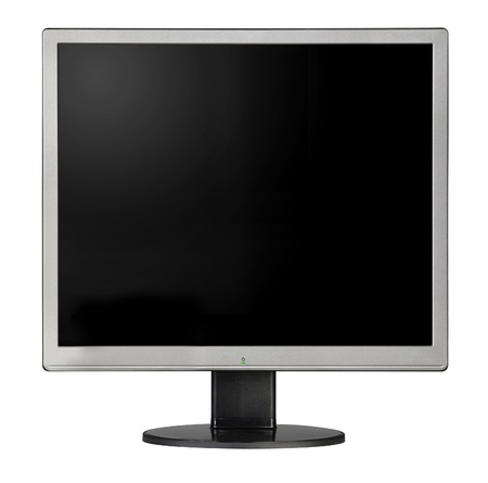 wideview: Computer monitor isolated on a white background