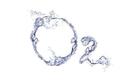 oxygen: O2 Stock Photo