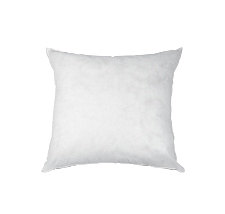 white pillow: White pillow