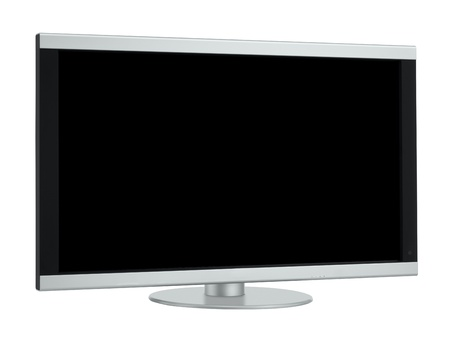 Plasma, LCD, Oled - screen isolated on white photo