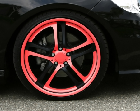Wheel close up isolated car industrial transportation photo
