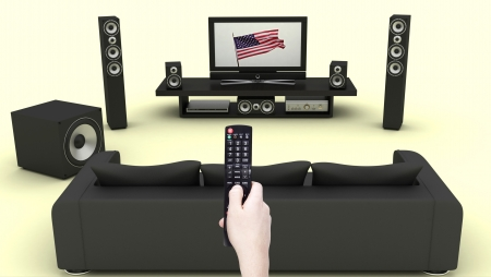 control centre: home theatre
