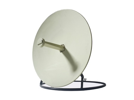 Receiver.Satelite dish aerial, antenna, bowl, broadcast, cable, photo