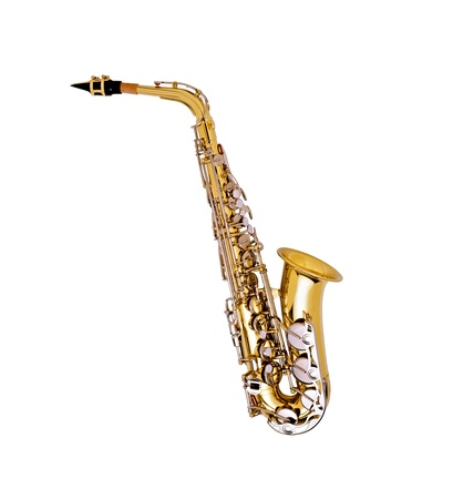 alto: Saxophone alto B Stock Photo