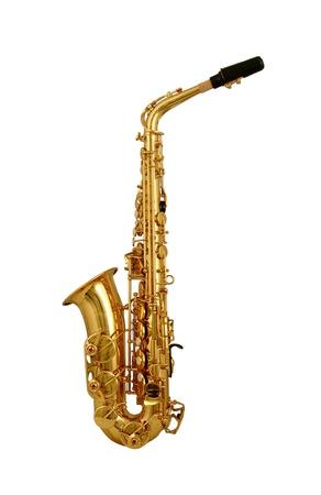 saxof�n: Saxof�n Alto B Foto de archivo