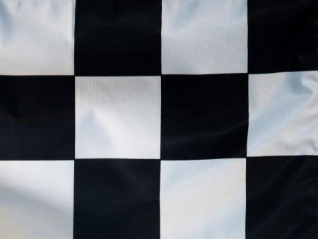 checker flag: checker flag Stock Photo
