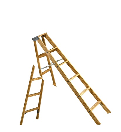 broken ladder photo