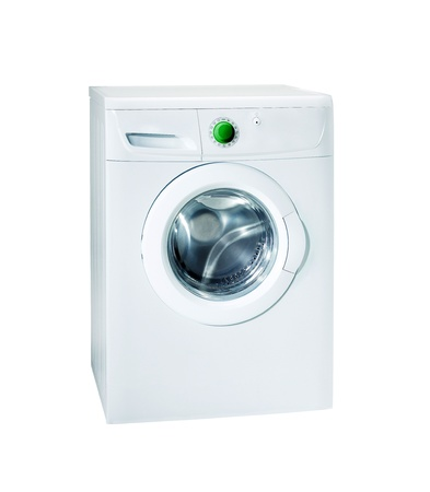 Washing machine isolated Stock Photo - 14093143