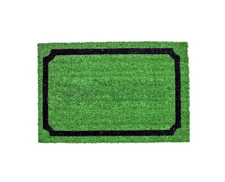 carpet isolated on white photo