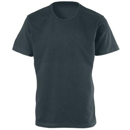 tshirt: t-shirt back isolated on white background Stock Photo