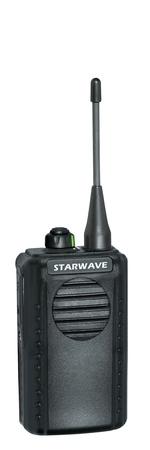 cb phone: portable radio sets on a white background Stock Photo