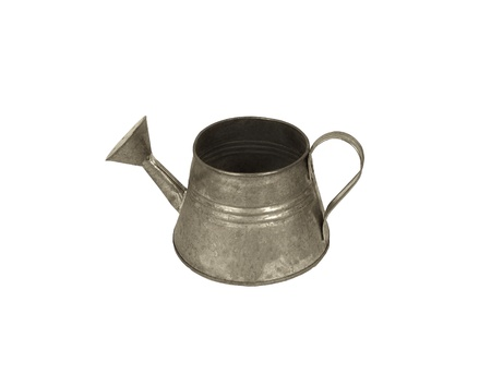 watering can on white background photo