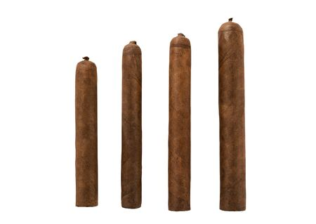 isolated cigars all sizes photo